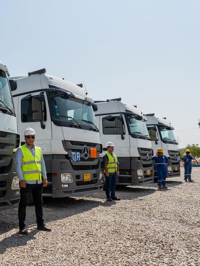 Logistics company Iraq